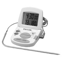 Taylor 1470N Digital Cooking Thermometer, 0 - 200 deg C, (2) AAA