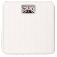 BATH SCALE BASIC ANALOG WHITE