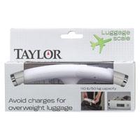 Taylor 81204 Luggage Scale, 88 lb, Digital