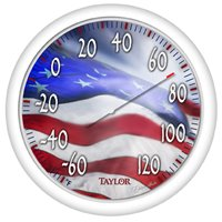 "THERMOMETER OUTDOOR 13.5"" FLAG"
