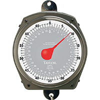 Taylor 3470 Hanging Weighing Scale, 70 lb, Analog