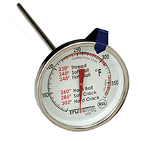 Taylor Precision 3505 Trutemp Thermometers, Candy/Deep Fryer, Stainless Steel