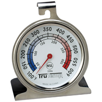 Taylor Precision 3506 Trutemp Thermometers, Oven, Dial Type, Stainless Steel
