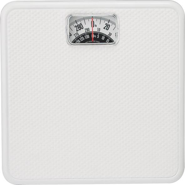 BATH SCALE ANALOG 300LB CAP