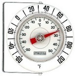 90100 5-1/4 IN. THERMOMETER W/BCK
