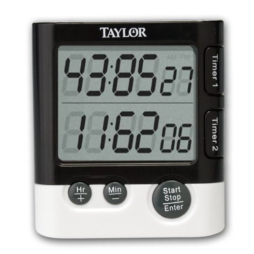 Taylor Precision Products 5828 Dual Event Digital Timer/Clock