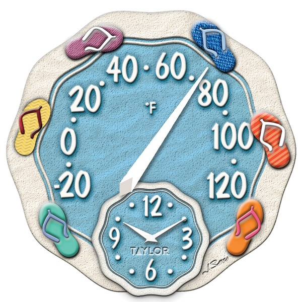 12IN SANDALS THERMOMETER