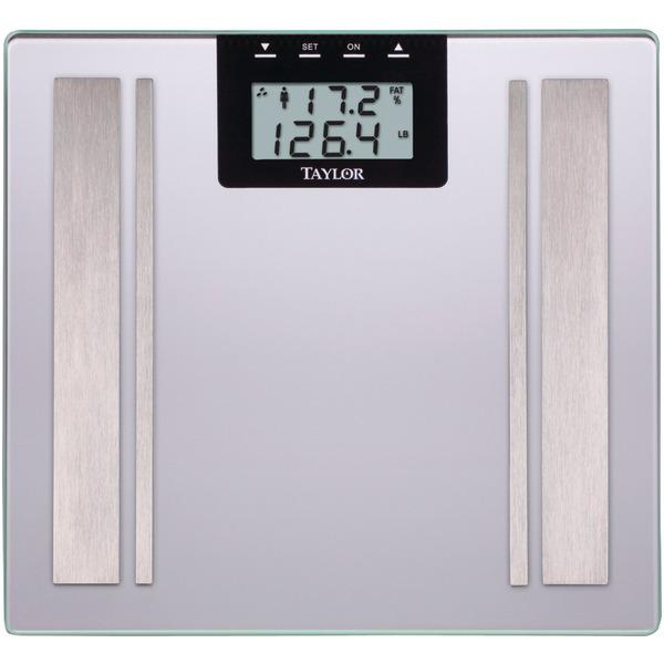 Taylor Precision Products 57364102F Body Fat Digital Scale (Silver)