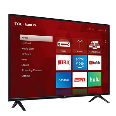 """40"""" 1080p LED Roku TV"""