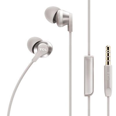 TCL ELIT100 White Headphones