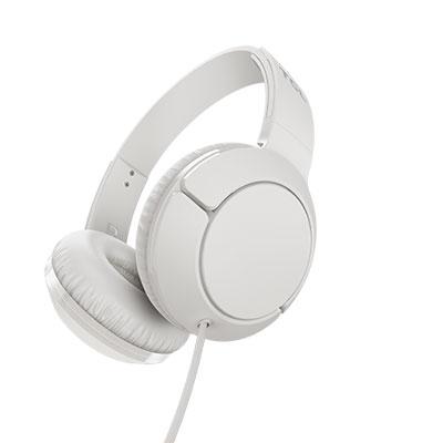 TCL MTRO200 White Headphones