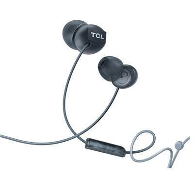TCL SOCL300 Black Headphones