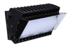45W LED WALL PACK LIGHT, SEMI-CUTOFF ONLY, NO HOOD AVAILABLE