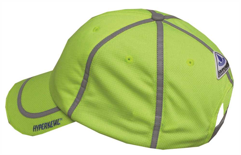 HYPERKEWL� EVAPORATIVE COOLING BASEBALL CAP, HI-VIZ LIME