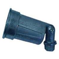 Teddico/BWF H-1V Floodlight Lamp Holder, 150 W, Incandescent, Gray, Die Cast