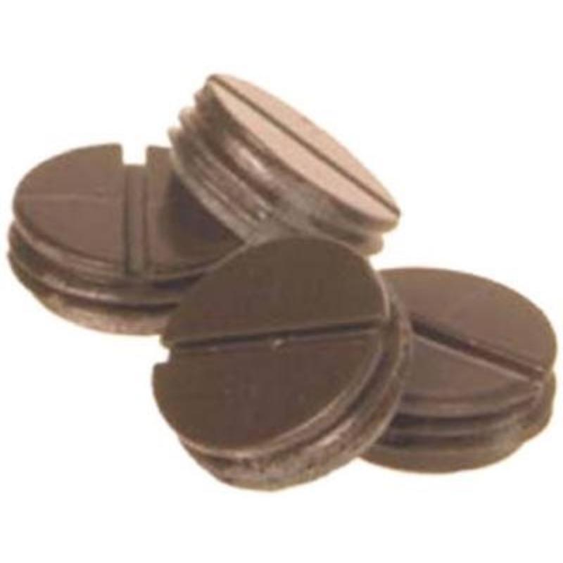 Teddico/BWF 50APAB-1 3-Count Weatherproof Closure Plug, 1/2 in, Bronze
