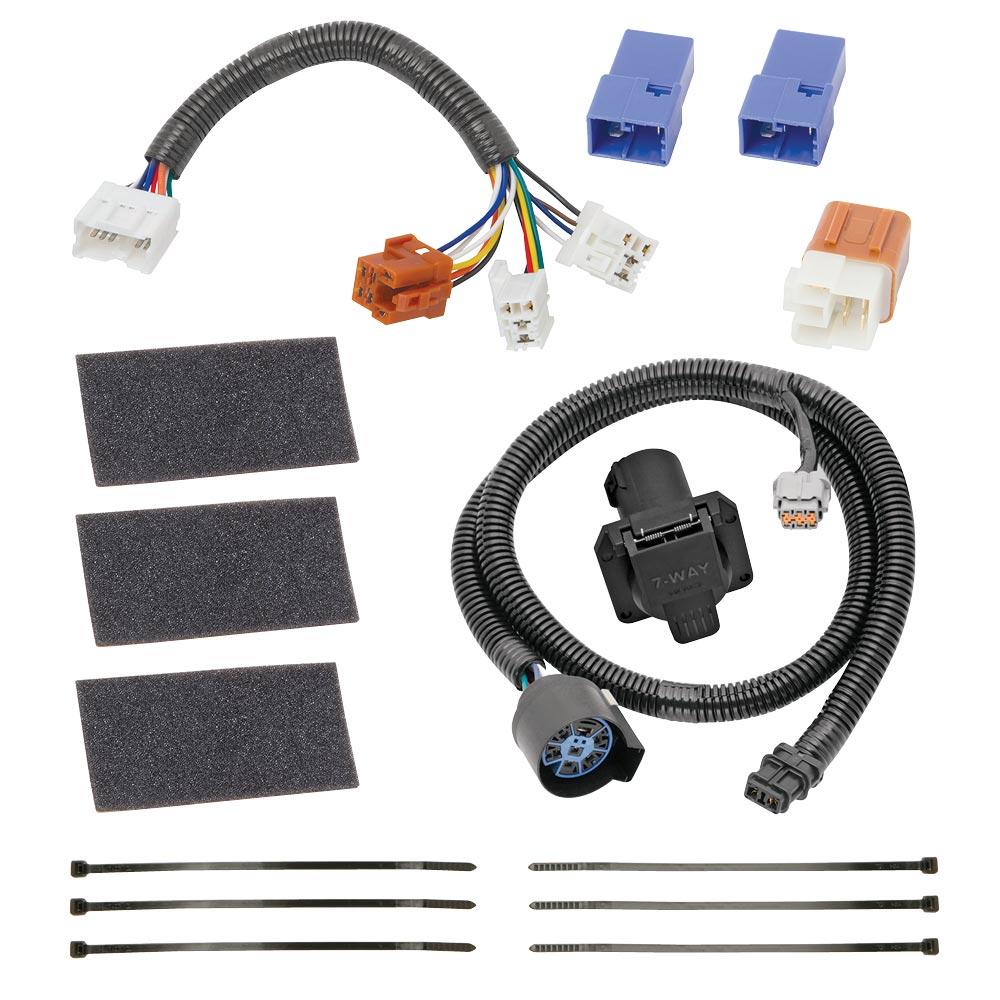 Tekonsha Tow Harness Wiring Package 7Way