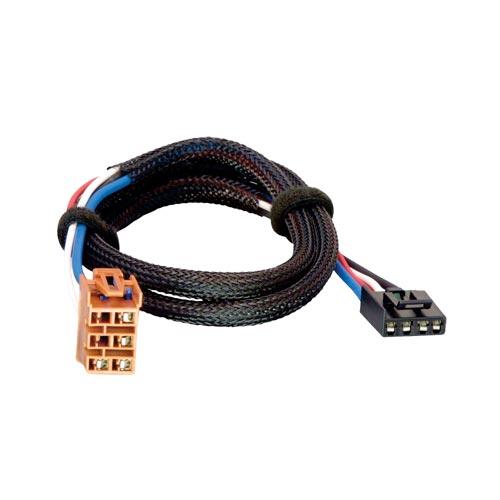 Tekonsha Brake Control Wiring Adapter 2 plugs GM