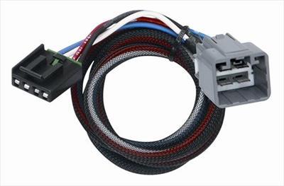 Tekonsha Brake Control Wiring Adapter 2 plugs Dodge  RAM