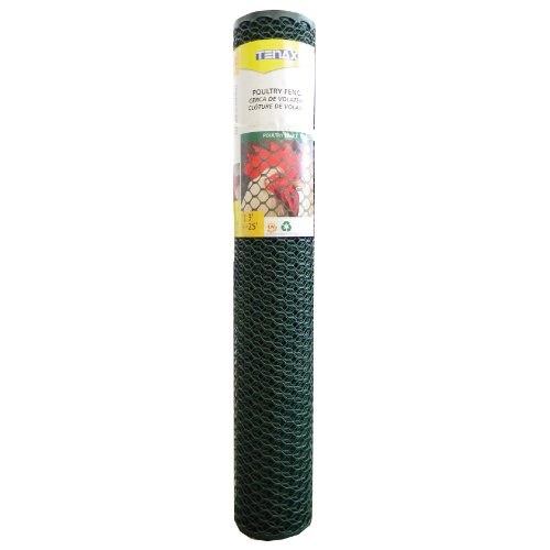 FENCE POULTRY GREEN 3X25FT
