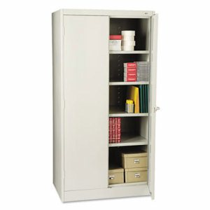 "72"" High Standard Cabinet, 36w x 24d x 72h, Light Gray"