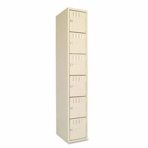 Box Compartments, Single Stack, 12w x 18d x 72h, Sand