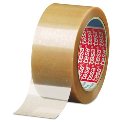 "646 Carton Sealing Tape, 2"" x 55yd, 2mil, Polypropylene, Clear"