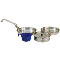 COOKWARE CAMP HDTY MESS KT 5PC