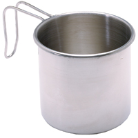 Texsport 13420 Camping Mug, 16 oz, Stainless Steel