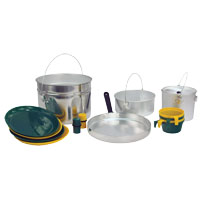 Texsport 13160 Heavy Duty Cook Set