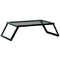 Texsport 15110 Heavy Duty Camp Grill, 24 in L x 16 in W, Steel