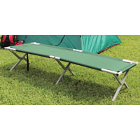 Texsport 15042 Deluxe Folding Camp Cot, 250 lb Weight Capacity, 75 in L x 26 in W x 16 in H