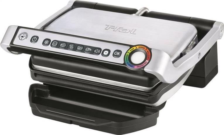 T-Fal GC702D53 4-Serving Electric Grill, 1800 W, 600 sq-cm