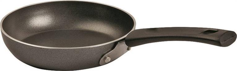 T-Fal A8570084 Non-Stick One Egg Wonder Fry Pan, 4-3/4 in Dia, Aluminum, Gray