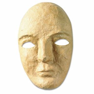"Paper Mache Mask Kit, 8 x 5 1/2"""