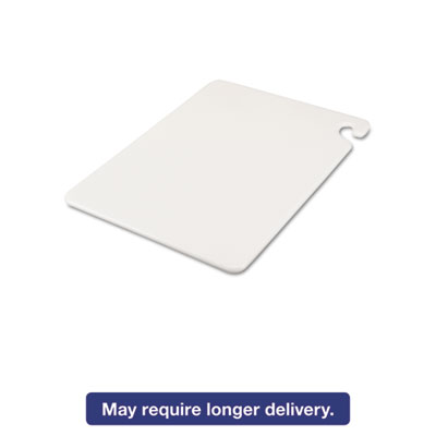 Cut-N-Carry Color Cutting Boards, Plastic, 20w x 15d x 1/2h, White