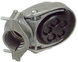 58007 3/4 IN. SERVICE CLAMP ON CAP
