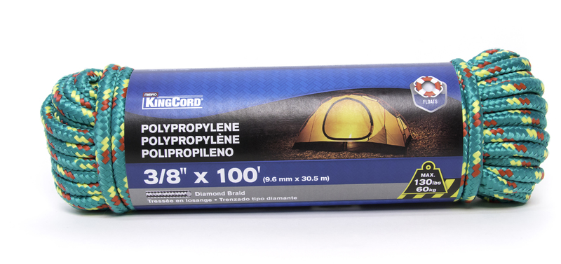 300021 3/8 IN. X100 FT. POLY ROPE