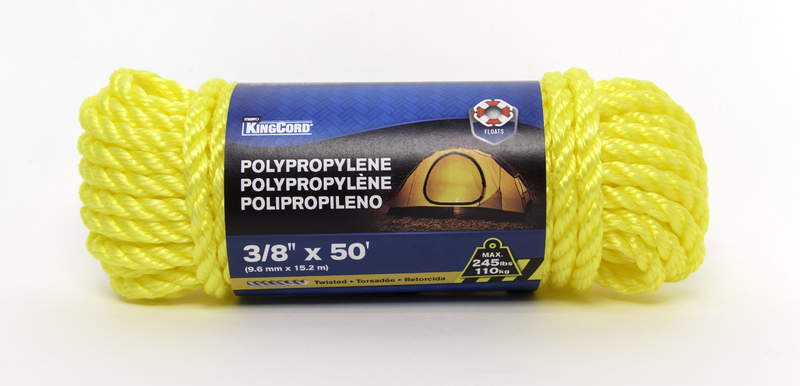 300061 3/8 IN. X 50 FT. TW POLY ROPE