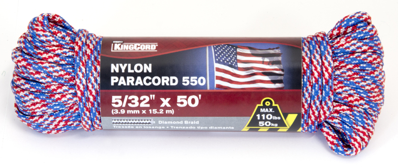 302811 5/32 IN. X50 FT. PARACORD