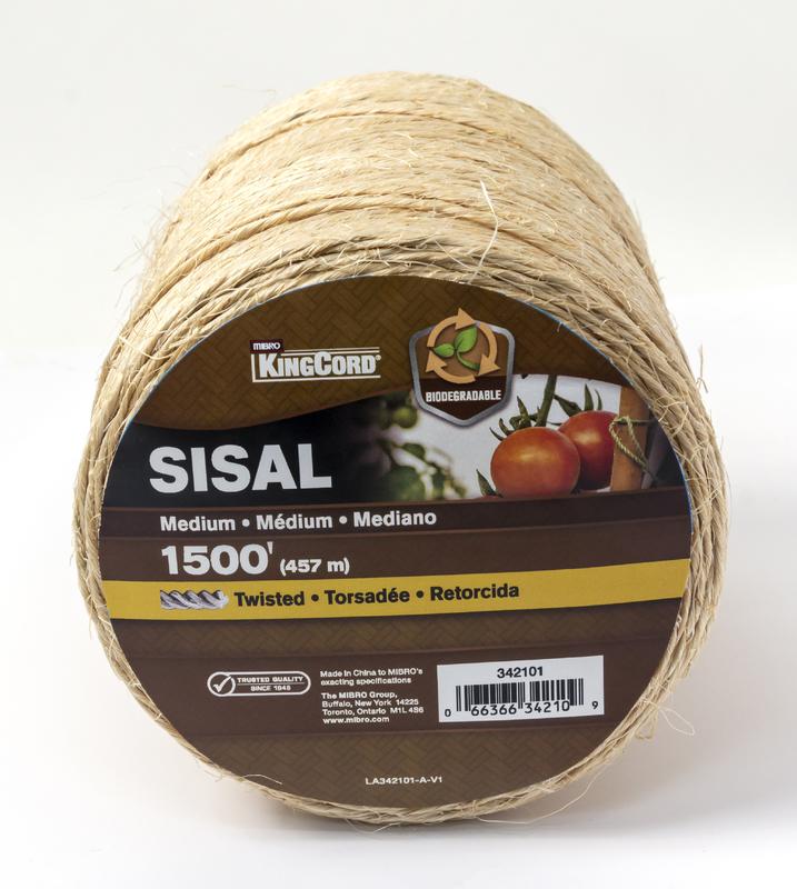 342101 1500 FT. -1PLY SISAL TWINE
