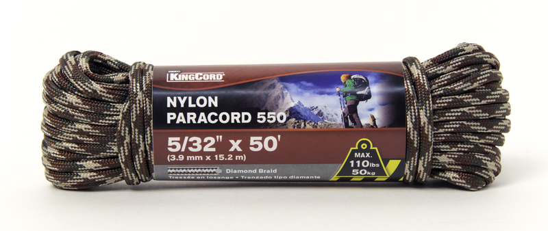 448701 5/32 IN. X50 FT. PARACORD