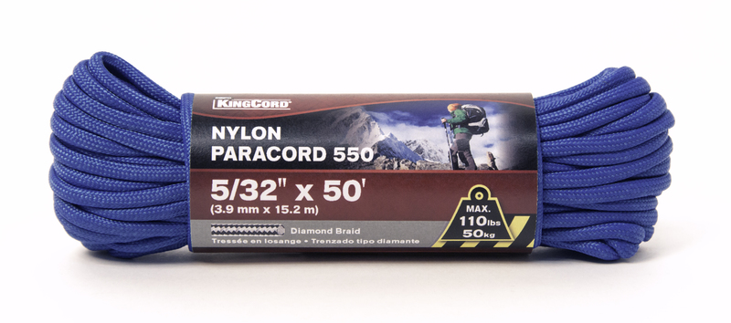 448711 5/32 IN. X50 FT. PARACORD
