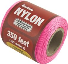 TWISTED MASON LINE, PINK, #18 X 350 FT. SPOOL