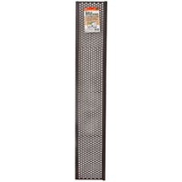 GUTTER SCREEN 6-5/8INX3FT BRW