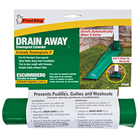 Frost King DE200 Standard Manual Drain Away, 8 ft L