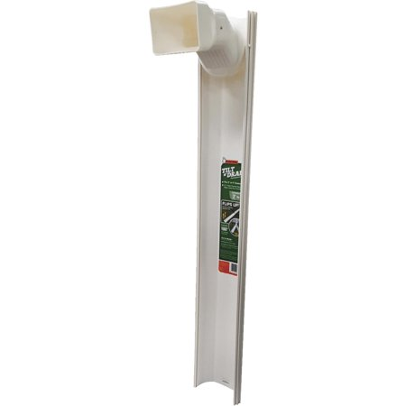 DOWNSPOUT EXTENSION WHITE 6FT