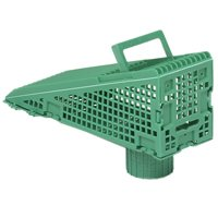 Frost King W103/12 Wedge Downspout Screen, For Use With 3 in Gutter
