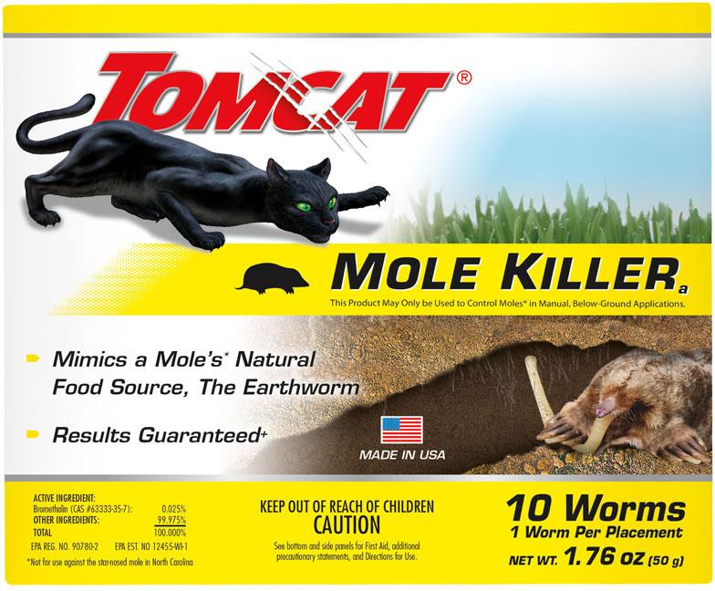 MOLE KILLER WORM BAIT BOX 10PK