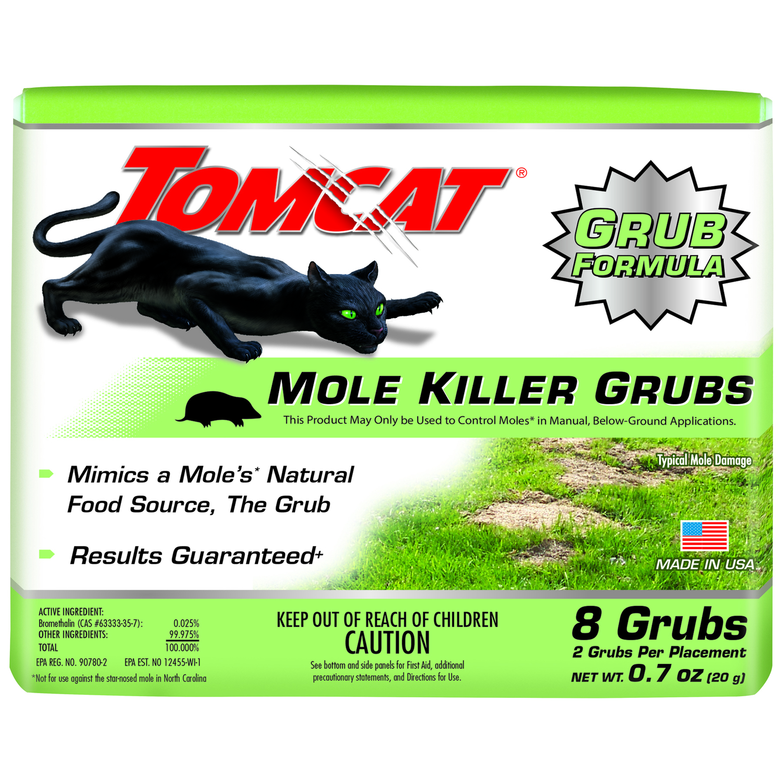 MOLE KILLER GRUB BAIT BOX 8PK